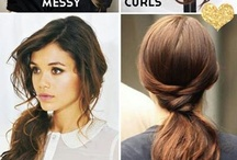 Easy Hairstyles / by Tracy Lawrence