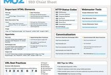 Webdesign Cheetsheets / As a web designer or developer, it's nearly impossible to remember multiple programming languages, frameworks, and keyboard shortcuts to various applications. This is where cheat sheets can be a life saver. Most cheat sheets are designed to be printer friendly, so you can have them laying around on your desk as quick reference cards. So to make your life easier, we've rounded up a selection of cheat sheets that you will surely find useful. / by Martin Steiner