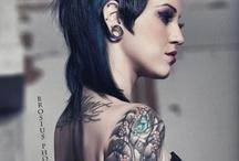 body art, ink, tattoo / by Florian Horn