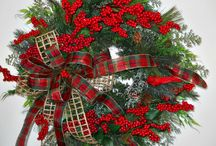 DecorMahDoor / Wreaths and such to decorate my door... May be ambitious and try to make some of them! / by Diane Jones