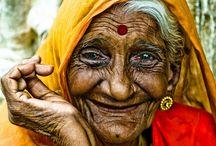 people around the world / by Jasmeet Kaur