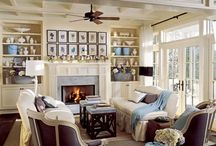 FAMILY/LIVING/SITTING ROOM DECOR INSP / Beautiful Family Rooms, Great Rooms, Formal Living Rooms, Sitting Rooms, Parlors, and more.... / by TERESA NATION STEPHENS