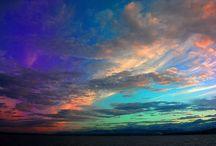 Skies / by Barb's Burnt Tree