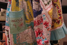 Aprons, Hankies, Tea/Dish Towels - Then & Now / by Judy P Brannon