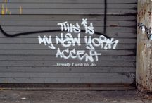 Graffiti/Street Art / by Morgan Fumerelle