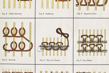 Fiber Arts / The art of weaving: how to make and use looms. / by forrestina vintage
