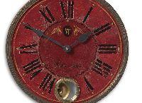 Vintage Wall Clocks / by Modern Man Caves