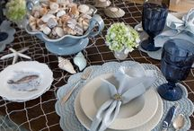 Coastal Tablescapes / Get inspiration for your home with these coastal tablescape ideas! / by Outer Beaches Realty