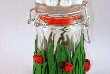 Cold Porcelain: Jars / by Paula Rodrigues