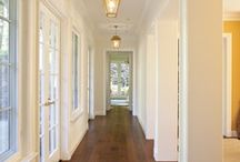 All white interiors / by Carolyn Schilling