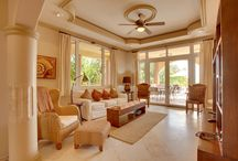 Brushstrokes Villa / This beautiful vacation villa is furnished with a mix of imported and locally designed furniture, using Belizean Mahogany and other indigenous hardwoods / by Belizean Cove Estates