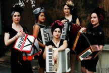 Mama's got a Squeezebox! / My tribute to the Accordion...I have not been without one in over 50 years and I now own 3 piano accordions, 2 toy button boxes, tons of sheet music, etc. / by Joanne Buendtner