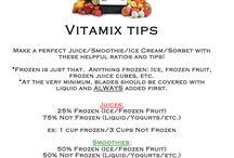 Vitamix Recipies / by Jackie Glynn