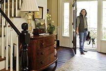 Entryways and Stairways / Doors, Foyers, Hallways, Staircases, Landings, Mud Rooms, Coat Closets / by Sarah Zinn