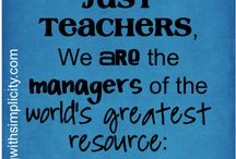 Education / Classroom decor and lesson ideas. / by Ginger Pierce
