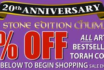 Artscroll's Sales! / Stay up to date with our current sales and special offers! / by Artscroll