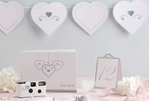 Heart Wedding Theme / Heart Wedding table and room decorations. / by Ginger Ray