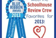2013 Blue Ribbon Awards -- Schoolhouse Review Crew / by Schoolhouse Review Crew