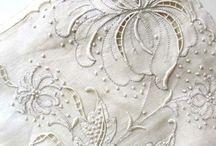 Beyaz iş embroidery cutwork / by Muge Bozgeyik