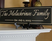 Family signs / by Christine Baker
