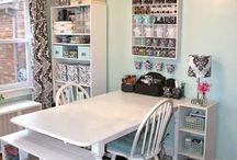 craft room ideas / by Loryanna Satterlund