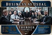 Thunder Athletics  / by Trine University