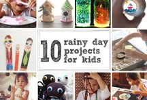Kid Projects / Fun things to do with my awesome kiddo. / by Athena Roth