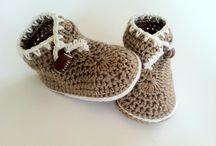 Crochet Baby Shoes / by Betty Burke