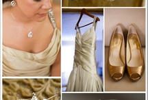 Metallic Wedding Details / by Two Bright Lights