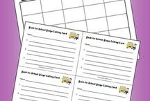 Back to school ideas / by Tlcfamilydayhome Daycare