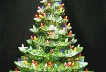 Christmas Time / Vintage style ceramic Christmas trees. / by Texas Ceramics