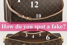 How do you spot a fake? / by Sara D