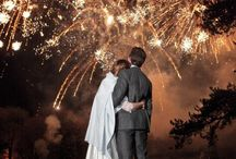 Sparkler Weddings / Weddings with sparks! / by Pretty Fancy Invites