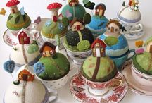 pincushions / by Dorleska Glazier