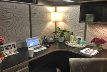 Cube Chic / Ideas to make my workspace cozy & comfy / by Pat Elders