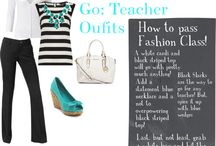 Teacher outfits/fashion / by Erika Narvaez