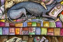 Greyhounds & Galgo Espanol & Barsoi 1 / by Marsilja Roetemeijer