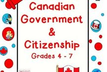 Canadian Government and Landforms / by Shauna Dwyer-Vance