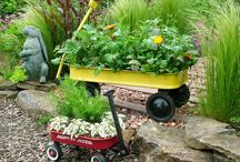Yard and Garden / Ideas for outdoor spaces / by Mary Franklin