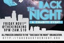 Give Back the Night / Our new charity event series kicks off Nov. 1 at the King King in Hollywood.  / by TBTN Productions Inc.