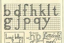 Lettering / by Hope Barker