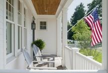architecture. porches. / by Kat. Miller