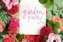 My Chloe + Isabel Garden Party / Retro, 60s Inspired Fête! Drinks and jewels, darling!  / by Megan Murphy
