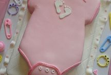 baby shower cookies and other sweets / by Ana