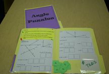 Middle school math / by Becky White Peterson