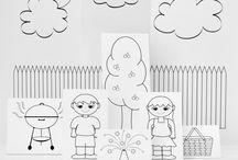Printables for Kids / by Tamara Burke