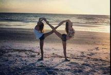 Cheerleading.  / by Kiarra Wyatt