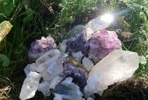 Gems Crystals and Stones / by Christine Brady