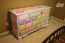 kids painted furniture / by Susan Boone