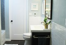 Guest bathroom / by Abbie Rice